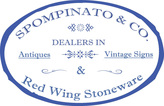 Red Wing Stoneware by Spompinato & Co offical logo for rwstoneware by spompinato and Co